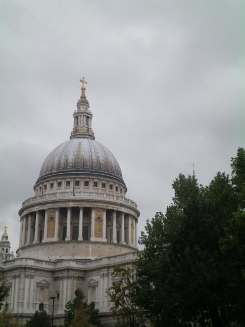 Die St. Pauls Cathedral im Herzen von London