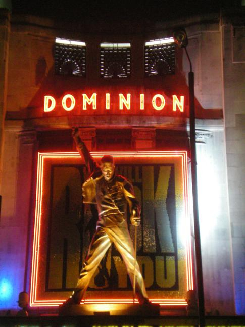 Das Musical We Will Rock You im Dominion Theatre in London