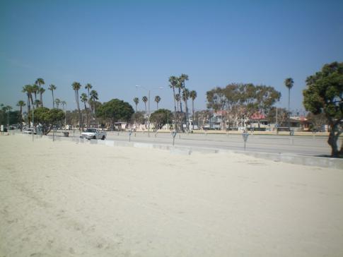 Der namensgebende Strand von Long Beach