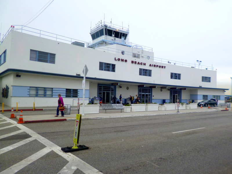 Der Long Beach Airport in der gleichnamigen Stadt in Kalifornien