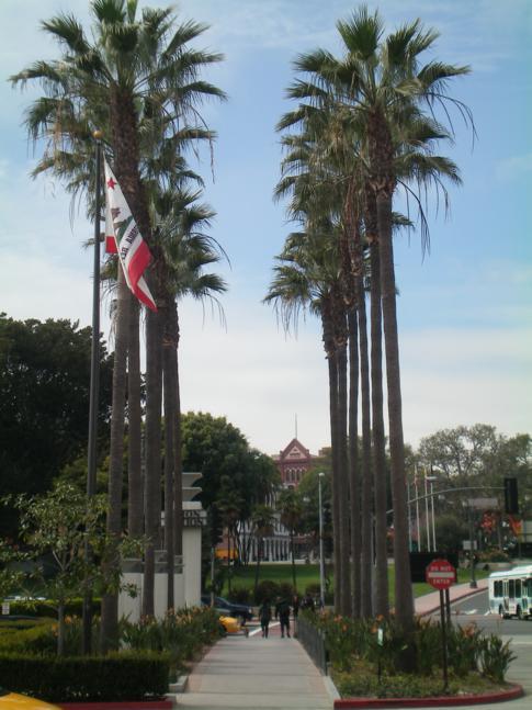 Blick von der Union Station am Westausgang