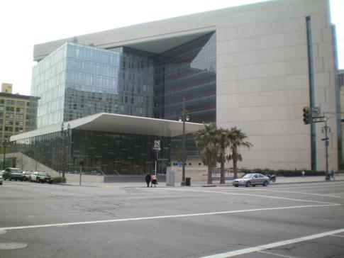 Das Polizeiquartier - ein modernes Gebäude in LA