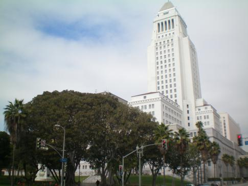 Die City Hall in Los Angeles Downtown
