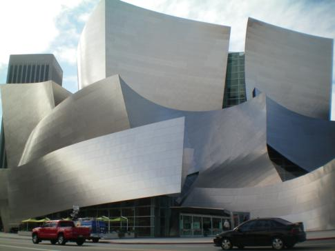 Die Walt Disney Concert Hall in Los Angeles