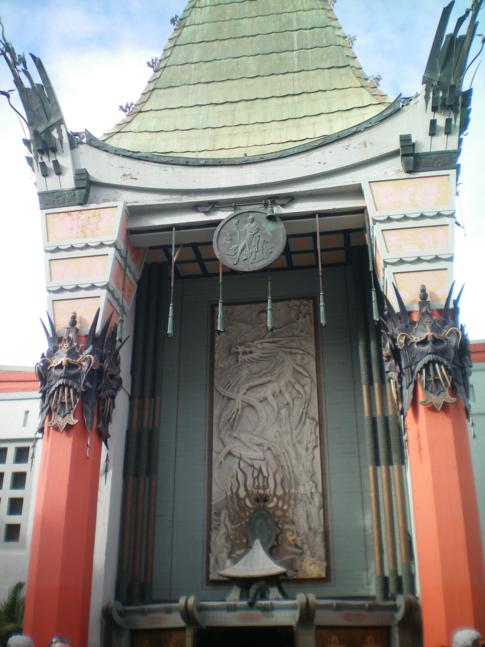 Graumans Chinese Theatre in Hollywood
