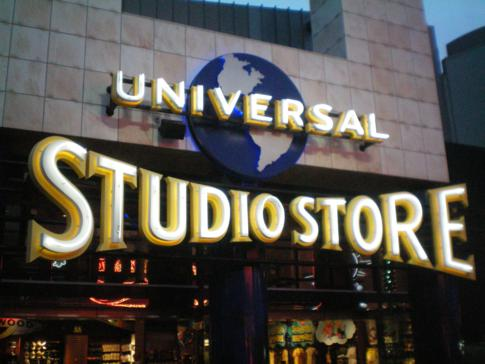 Der Universal Studio Store in Universal City, Los Angeles