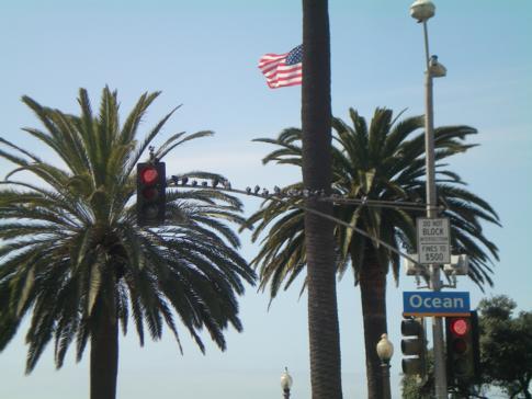 Erster Eindruck von Santa Monica