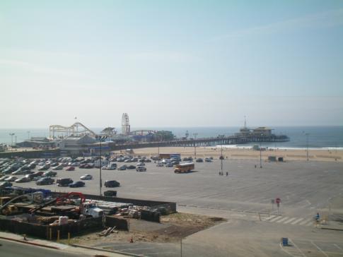 Santa Monica Pier und Santa Monica Beach