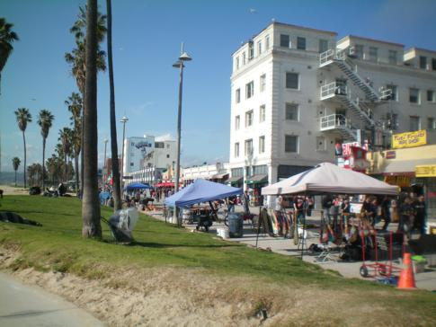Die Promenade in Venice Beach