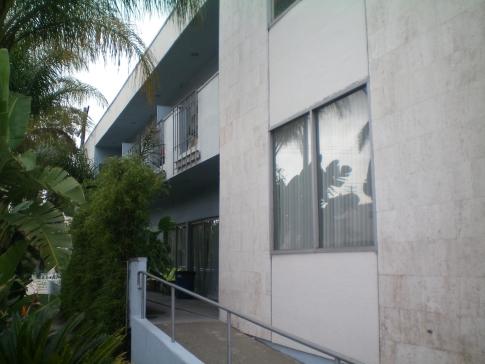 Das Orbit Hostel und Hotel in Los Angeles von außen
