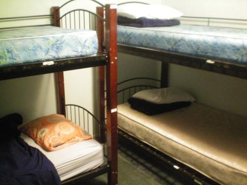 Mehrbettzimmer im Orbit Hostel and Hotel