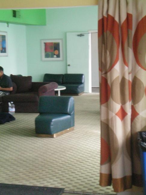 Aufenthaltsraum im Orbit Hostel and Hotel