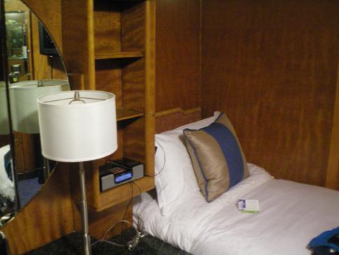 Einzelbett auf der Queen Mary Long Beach