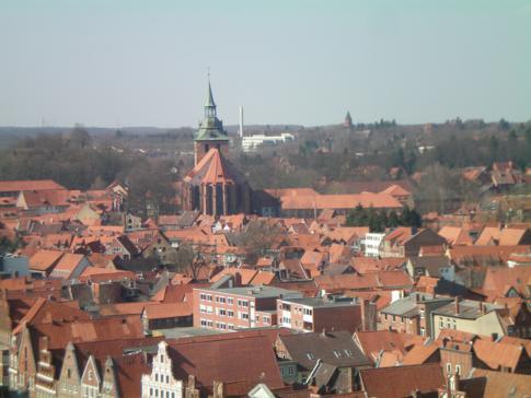 Die Michaeliskirche in Lüneburg