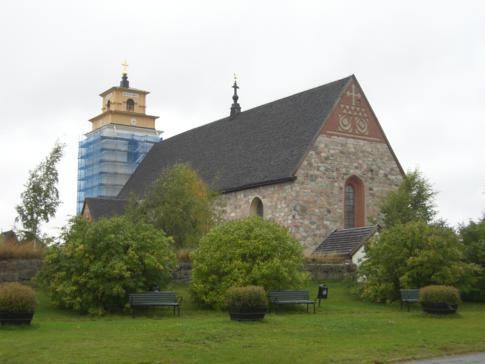 Das Unesco-Weltkulturerbe Gammelstad nahe Lulea
