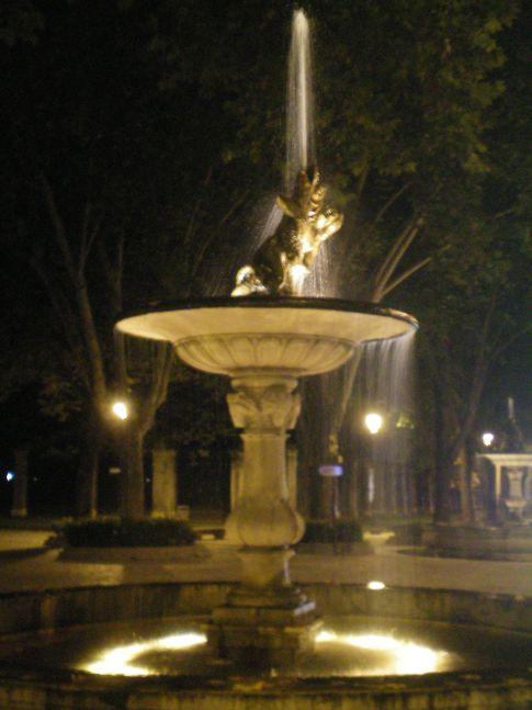 Brunnen vor dem Prado