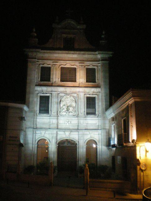 Gebäude an der Calle Mayor