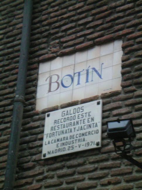 Das älteste Restaurant der Welt, das Botin