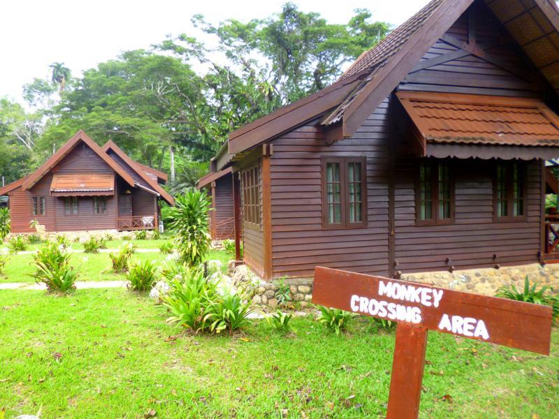 Eines der Cottages im Mutiara Taman Negara Resort