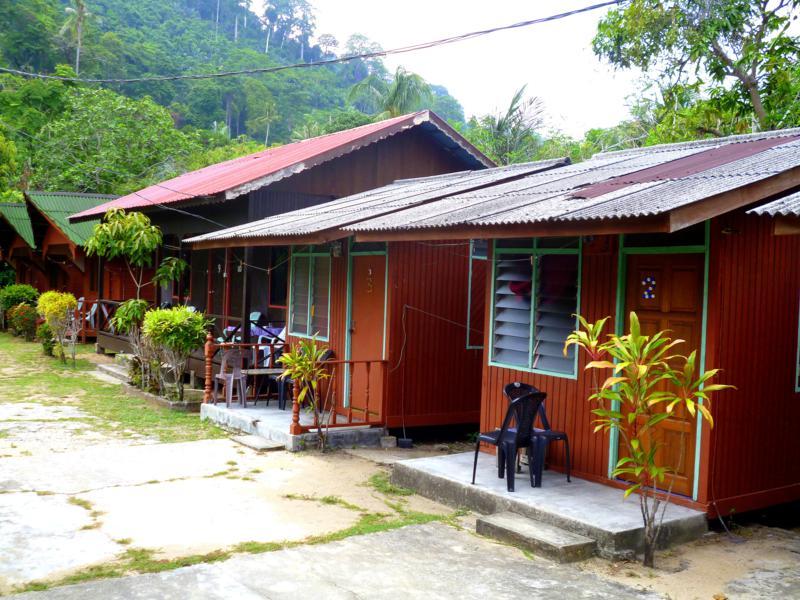 Unetrkunft My Friend Place in Air Batang auf der Insel Pulau Tioman