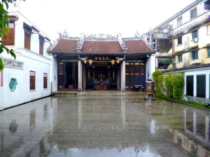 Keochew-Tempel im historischen Georgetown auf Penang