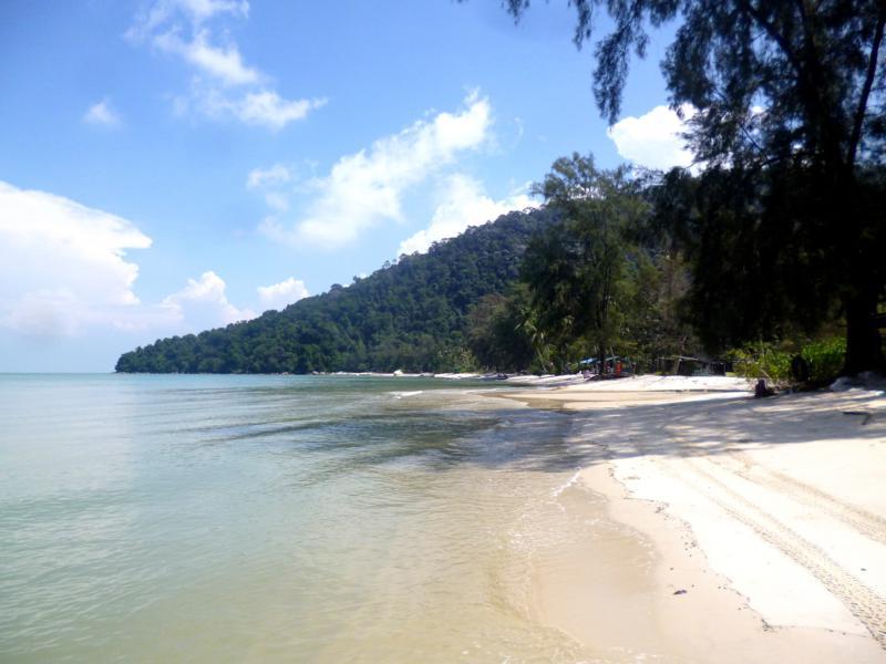 Traumhafter Monkey Beach - einer der besten Strände auf Penang