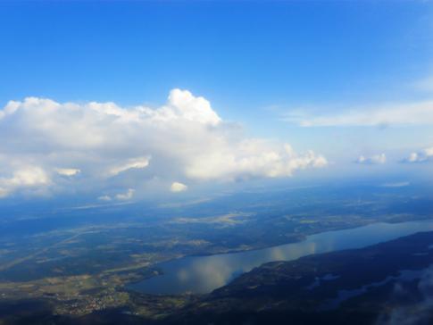 Ein Blick auf die weitläufige Landschaft von Schweden