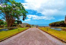 Die Rum-Destillerie Depaz in der ehemaligen Hauptstadt St. Pierre auf Martinique