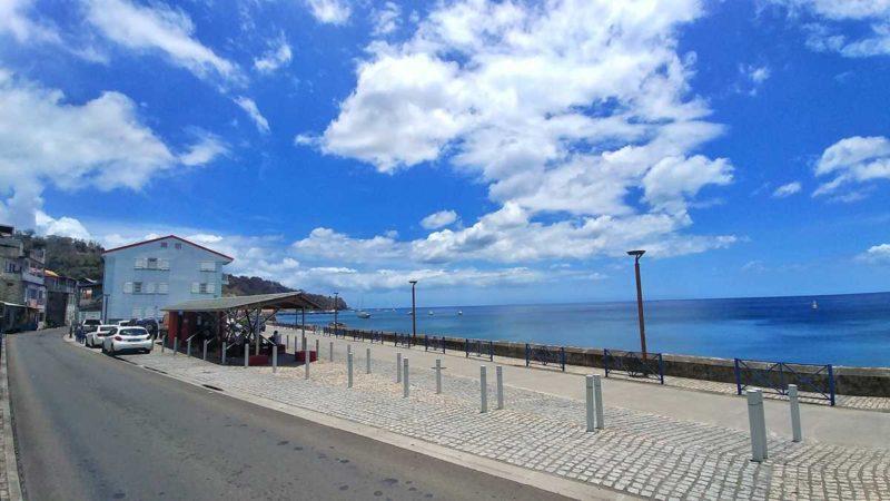Die pittoreske ehemalige Hauptstadt von Martinique, St. Pierre