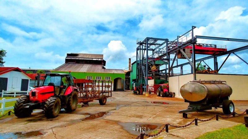 Die Destillerie St. James auf Martinique in Sainte-Marie