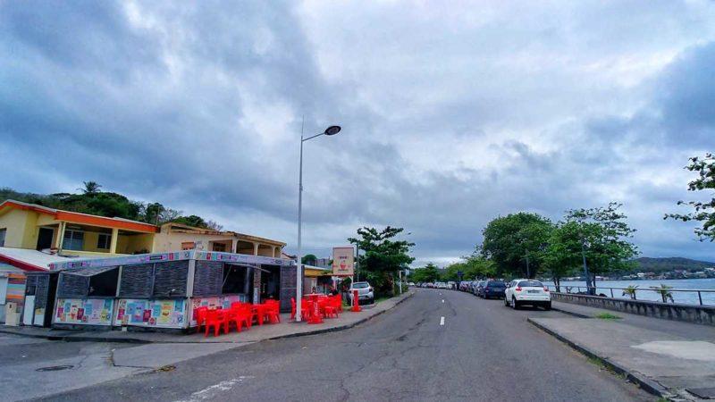 Der Ferienort Trinité auf der Caravelle-Halbinsel