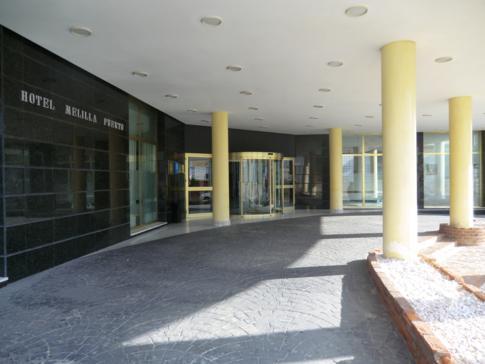 Das Tryp Hotel Puerto Rico in Melilla, der spanischen Enklave in Marokko