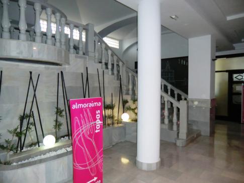 Lobby im Tryp Hotel Puerto Rico in Melilla