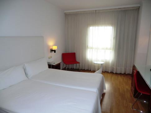 Unser Doppelzimmer im Tryp Hotel Puerto Rico in Melilla