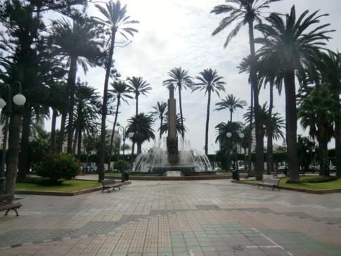 Die große Plaze de Espana in Melilla