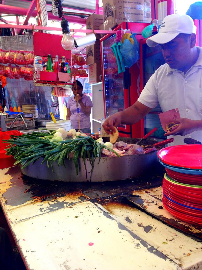 Leckeres Street Food in Mexico City