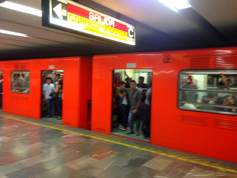 Die Metro in Mexico City