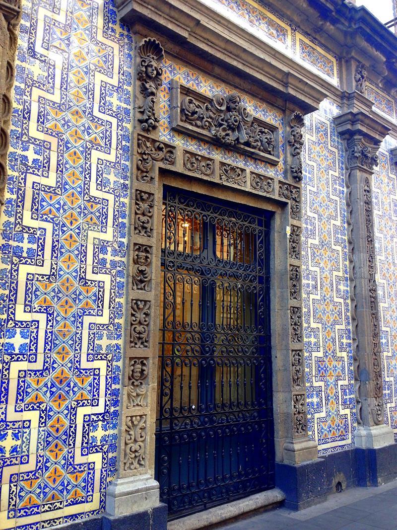 Die hübsche Altstadt von Mexico City