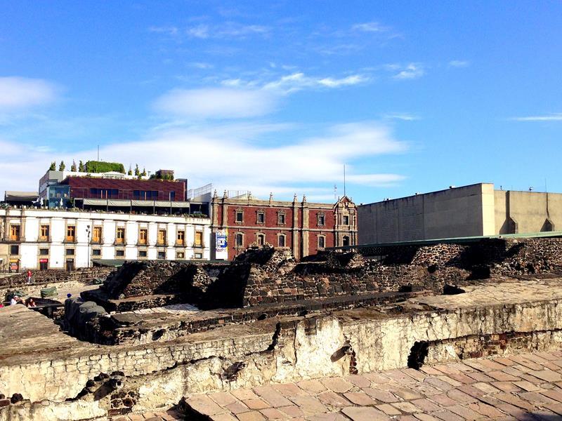 Temple Mayor, eine der historischsten Plätze von Mexico City