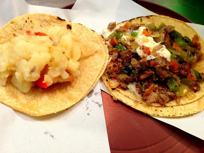 Leckere Tacos in Mexico