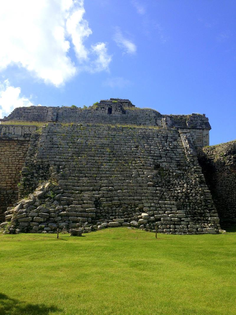 Chichen Itza, eines der 7 neuen Weltwunder, gelegen auf Yucatan in Mexiko