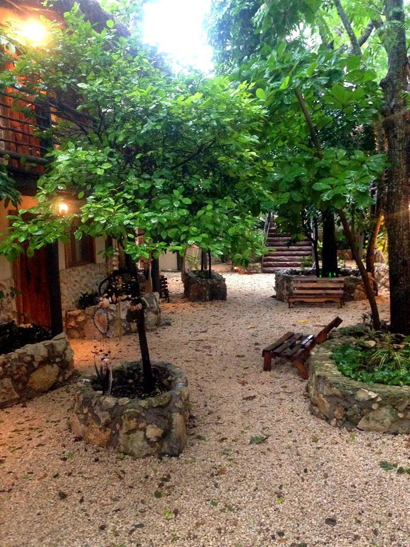 Das Indajani Hostel in Tulum auf der Yucatan-Halbinsel