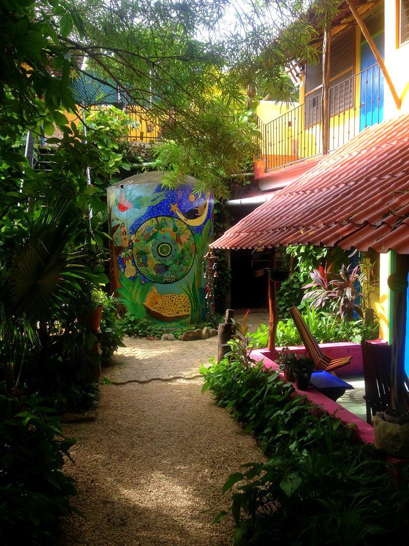 Das wunderschöne Candelaria Hostel in Valladolid auf der Halbinsel Yucatan