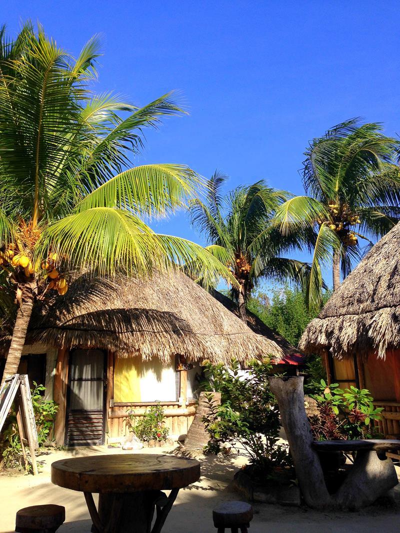 Das Ida y Vuelta Hostel auf der Isla Holbox in Mexiko