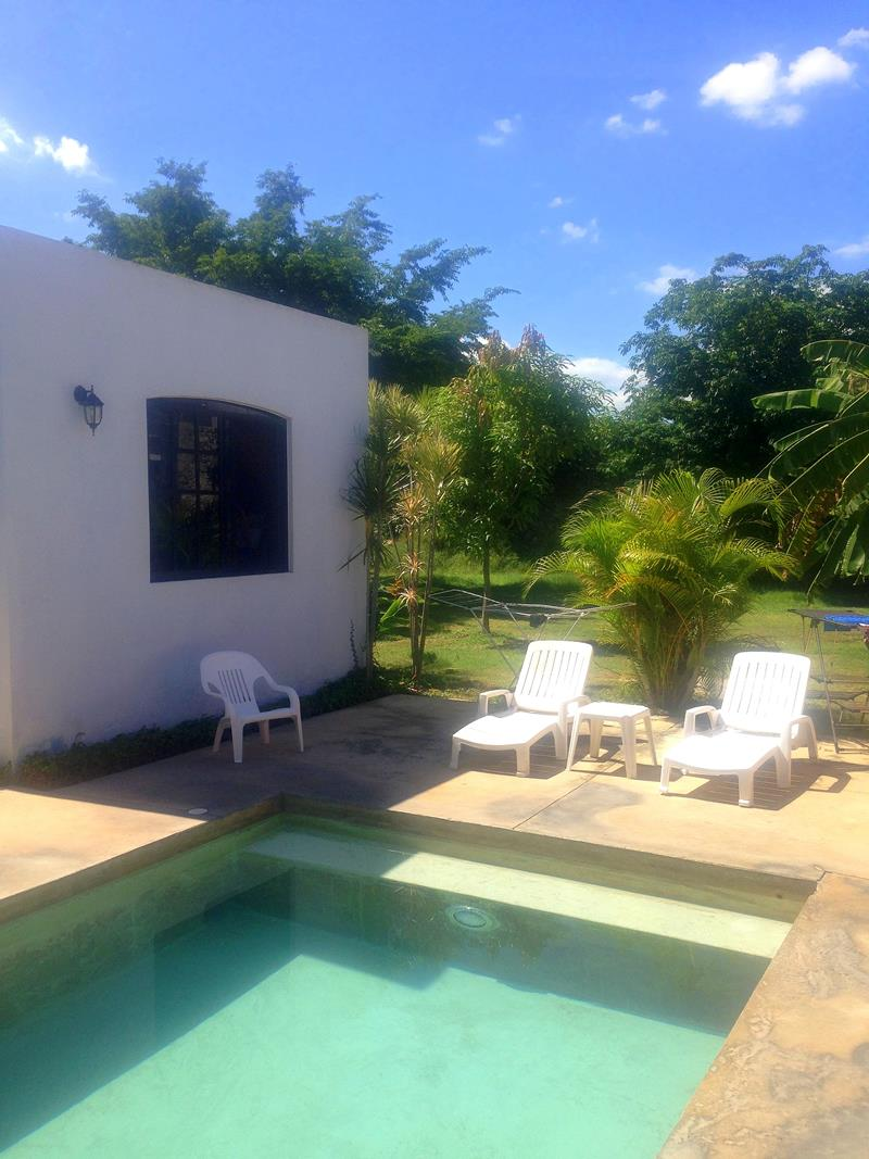 Das Ermita Hostel in Merida in Yucatan