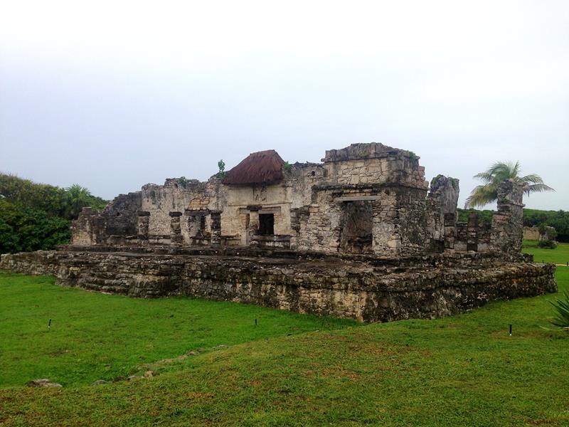 Die Maya-Ruinen in Tulum auf Yucatan