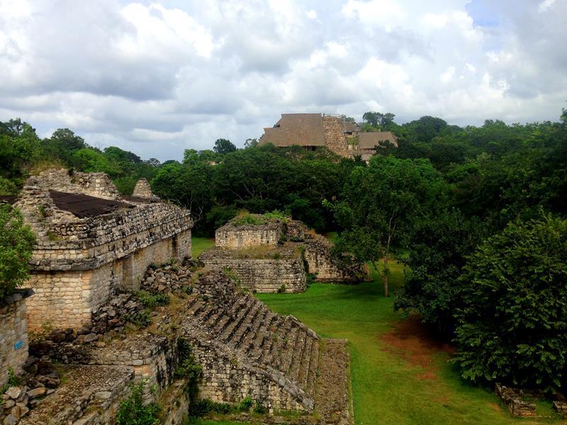 Ek Balam, eine spannende Maya-Ruine nördlich von Valladolid