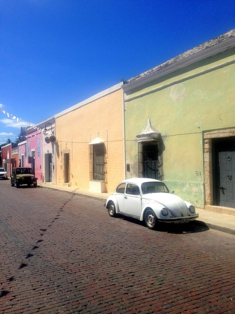 Mérida, eine große Stadt im Nordwesten der Yucatán-Halbinsel
