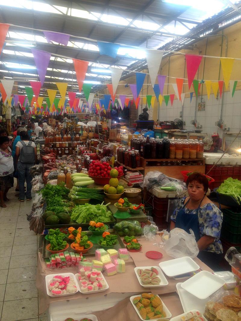 Markt-Treiben in Mérida