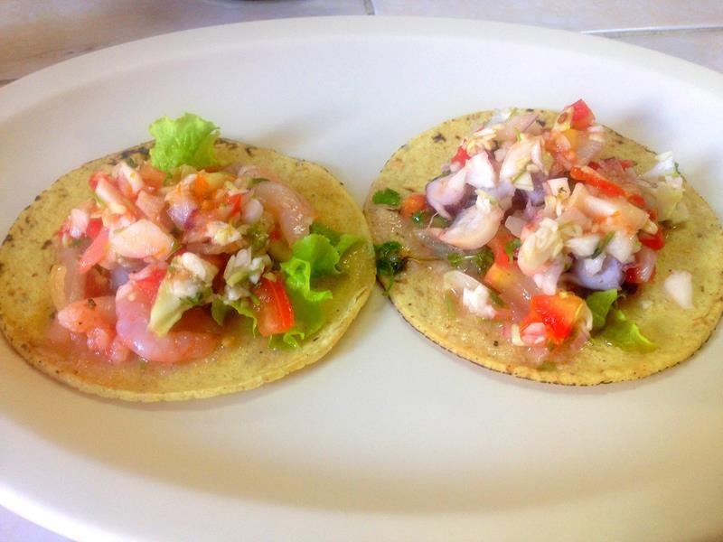 Antojitos, ein typisches Essen in Mexiko und Yucatán